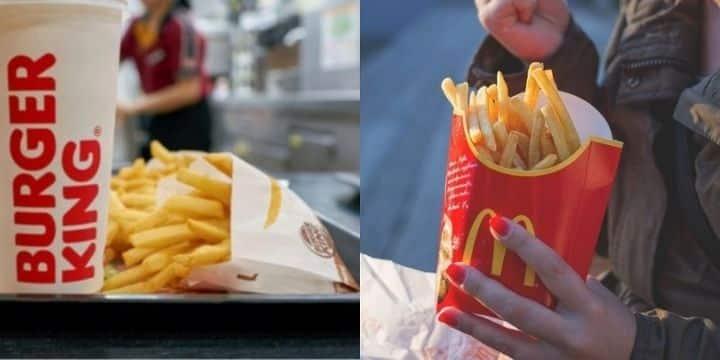 McDonald's vs Burger King: qui a vraiment les meilleures frites ?