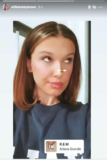 Millie Bobby Brown fait fondre la toile avec son joli regard de biche !