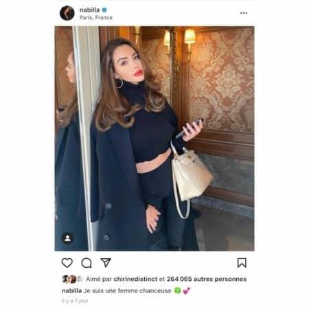 Nabilla: Magali Berdah la défend sur son sac Hermès de la Saint-Valentin !
