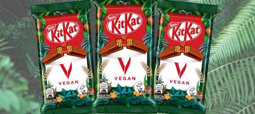 Nestlé prend un pari fou et sort un nouveau KitKat vegan !