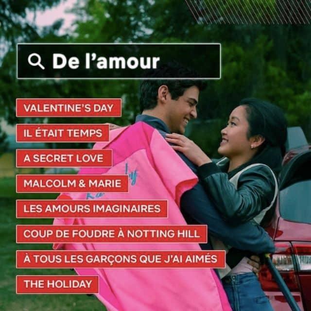 Netflix dévoile sa liste de films romantiques pour la Saint-Valentin !