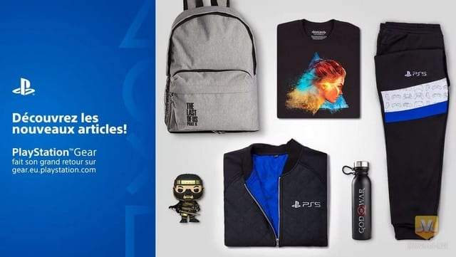 PS5: la boutique PlayStation Gear débarque enfin en France !