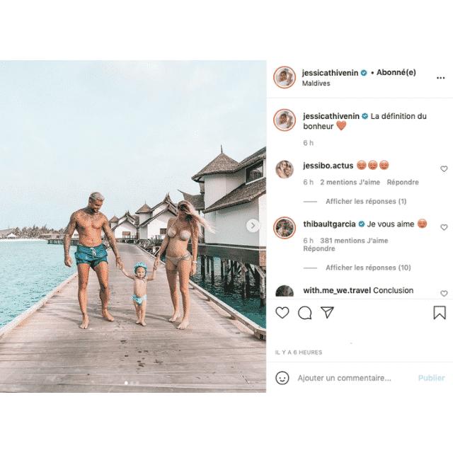 Jessica Thivenin (Les Marseillais) comblée aux côtés de ses hommes aux Maldives !