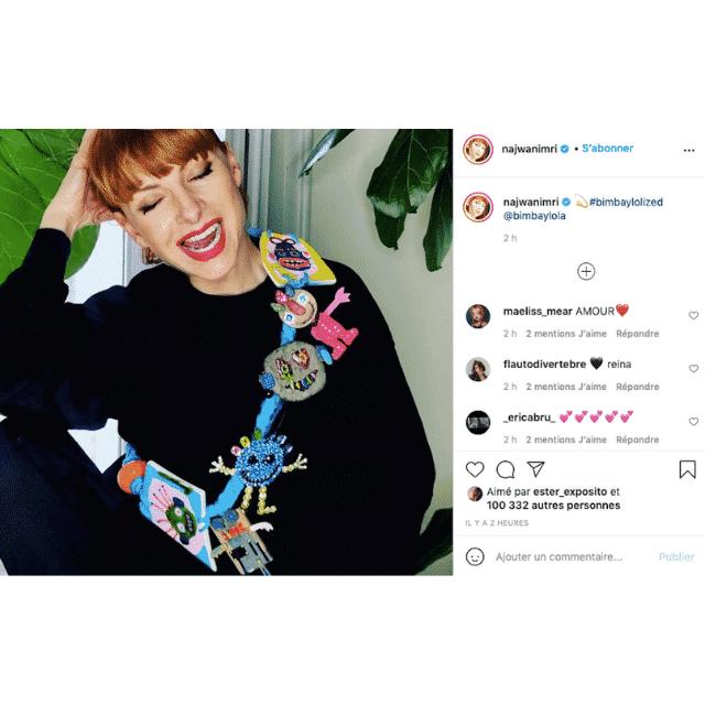 Najwa Nimri (La Casa de Papel) est influenceuse mode sur Instagram !