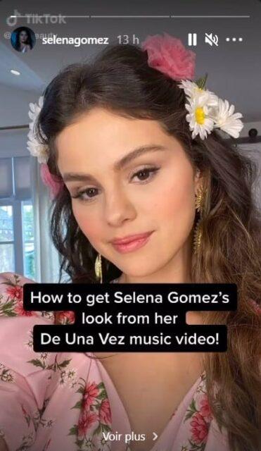 Selena Gomez dévoile un tuto pour copier son look dans De Una Vez !