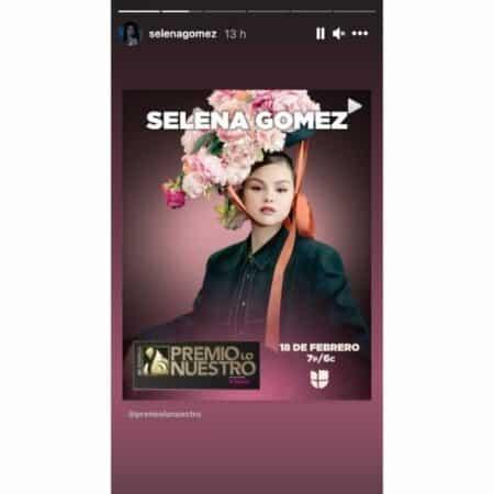 Selena Gomez mise à l'honneur dans la cérémonie Premio Lo Nuestro 2021