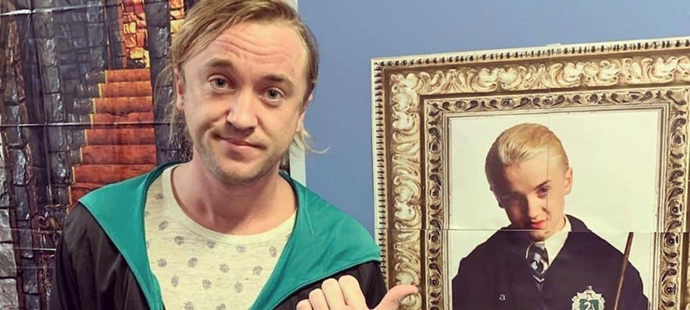 Tom Felton (Harry Potter) charme la Toile avec une photo de lui enfant !