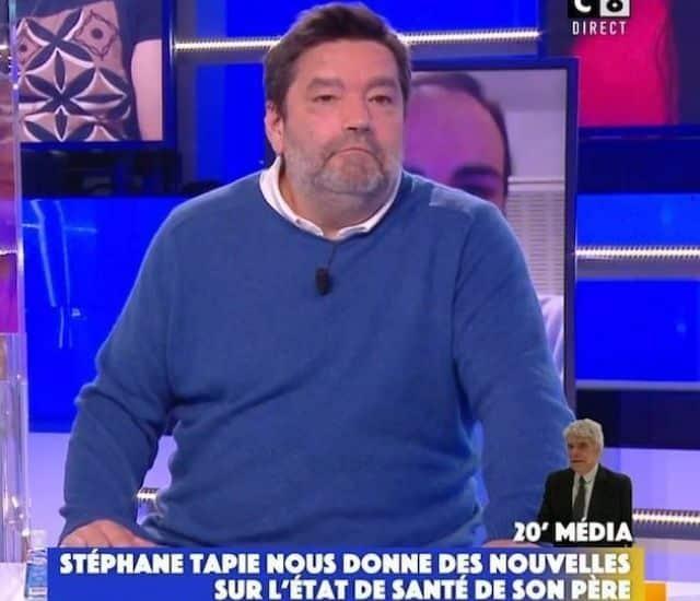 TPMP: le nouveau chroniqueur Stéphane Tapie énervent les internautes !
