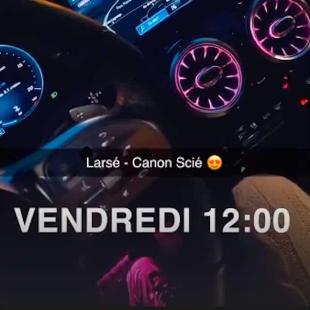 Wejdene donne de la force au nouveau son «Canon Scié» de Larsé !