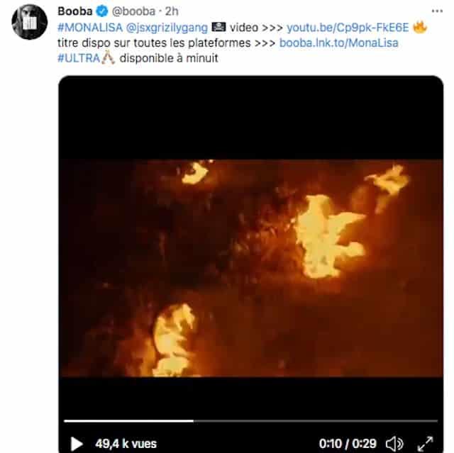 Booba dévoile son nouveau clip «Mona Lisa» en feat avec JSX !