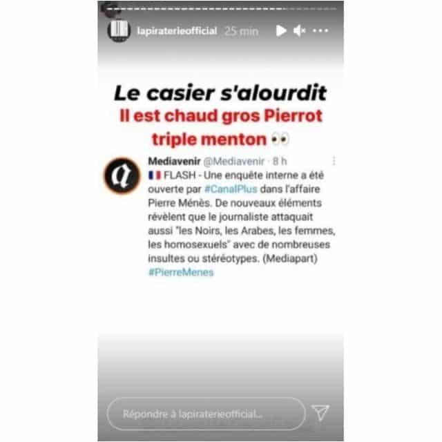 Booba tacle Pierre Ménès sur les accusations d'agressions sexuelles !