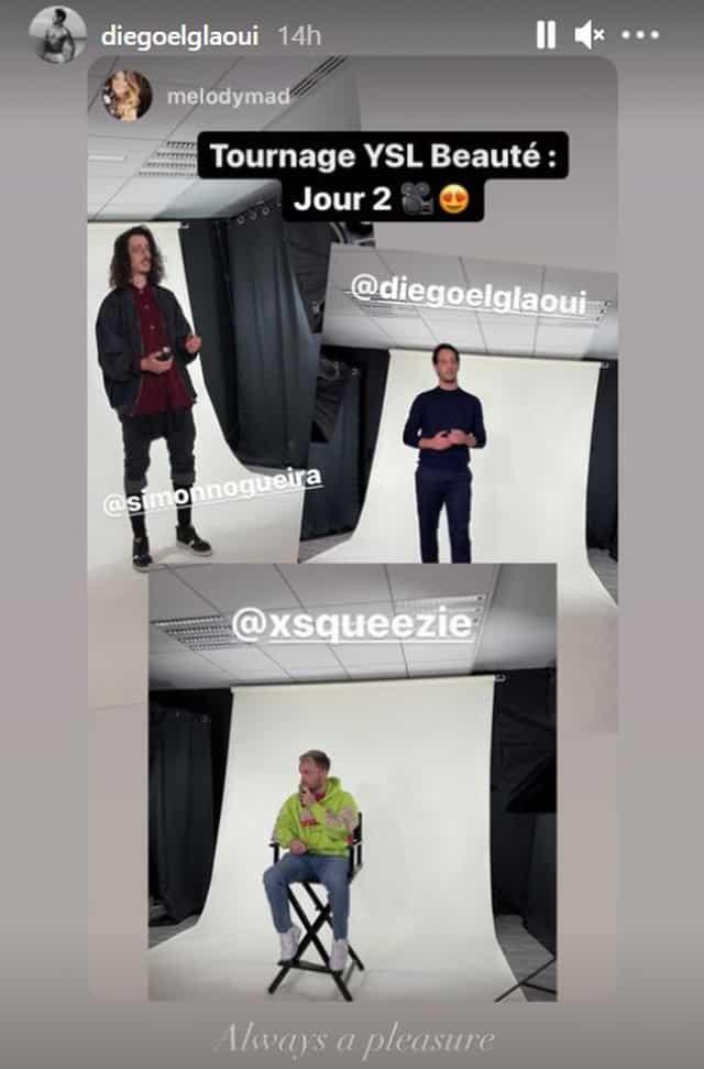Iris Mittenaere: Diego El Glaoui et Squeezie tournent un projet ensemble !