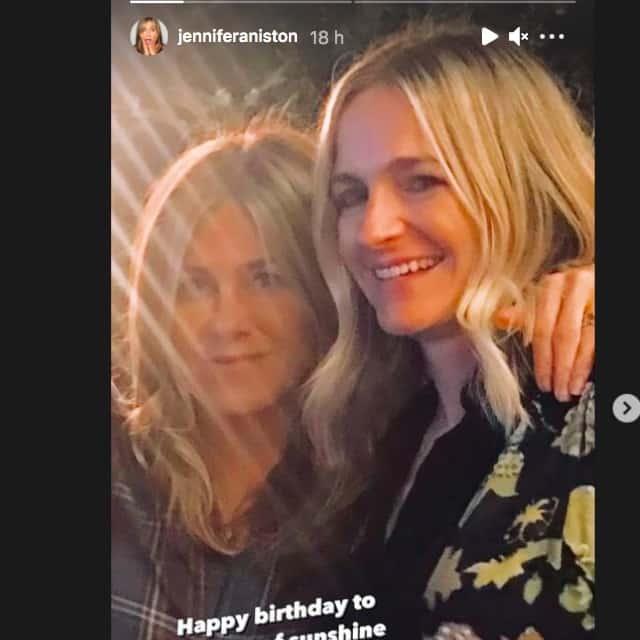 Jennifer Aniston dévoile un rare selfie d'elle pour une occasion spéciale !