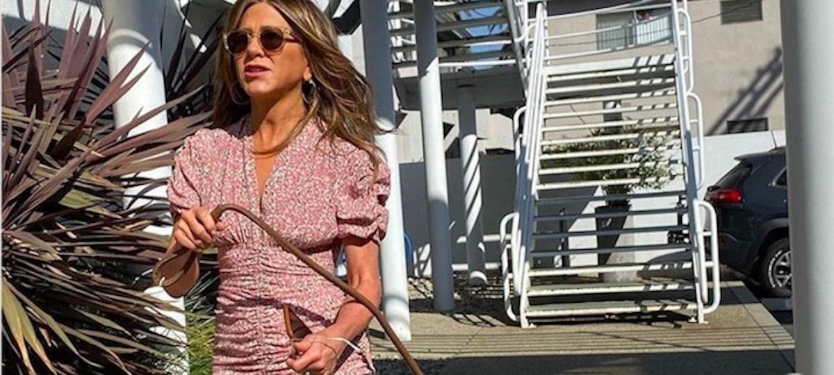 Jennifer Aniston dévoile un rare selfie d'elle sur Instagram !