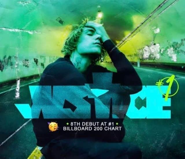 """Justin Bieber fait un énorme carton avec son album """"Justice"""" !"""