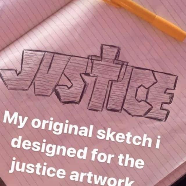 Justin Bieber imite le logo du duo français Justice pour son album ?
