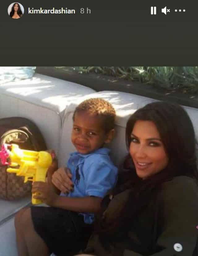 Kim Kardashian célèbre les 14 ans de Kiyan le fils de sa BFF La La !
