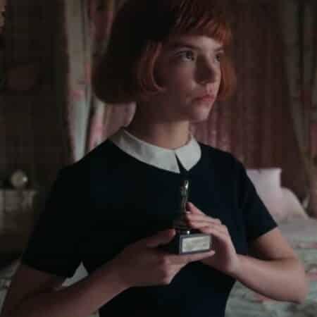 Le Jeu de la Dame (Netflix) cartonne aux Golden Globes 2021 !