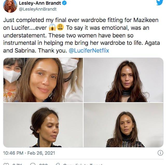 Lucifer saison 6: les fans très tristes du départ de Lesley-Ann Brandt !
