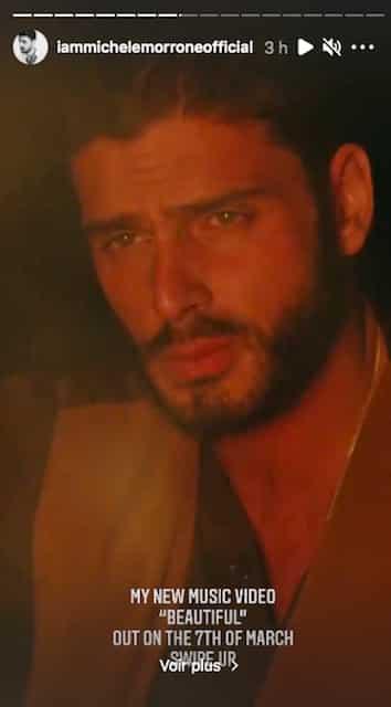 Michele Morrone dévoile un extrait de son prochain clip «Beautiful» !