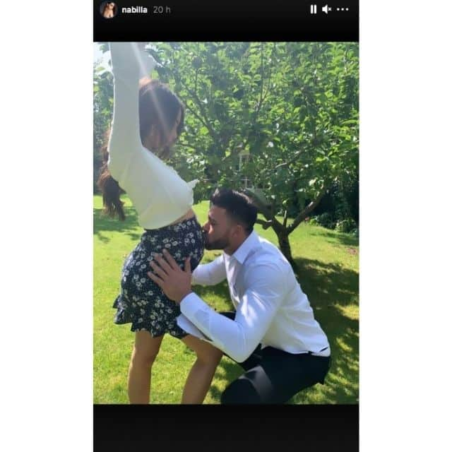 Nabilla enceinte de son deuxième enfant avec Thomas Vergara ?