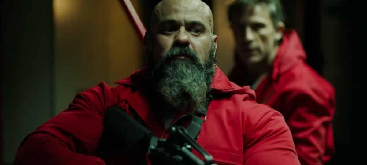 Roberto Garcia Ruiz (La Casa de Papel) dévoile ses énormes muscles !
