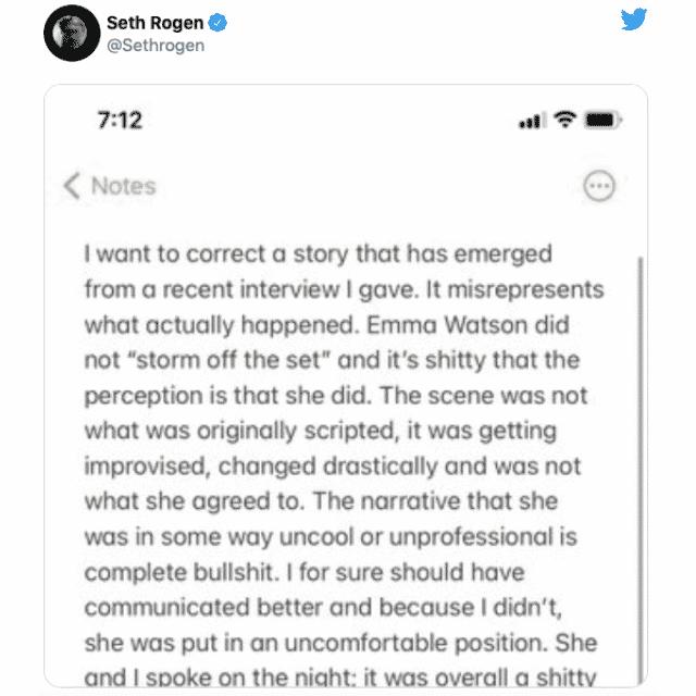 Emma Watson horrible avec ses co-stars sur les tournages ?