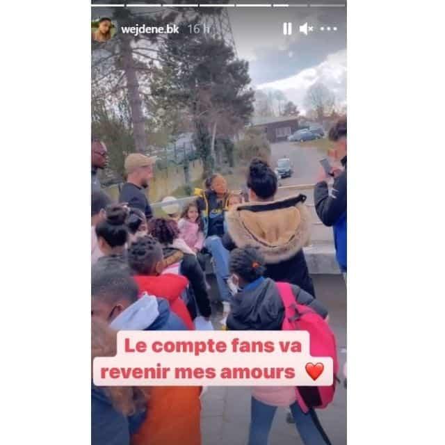 Wejdene perd son nouveau compte Instagram privé et rassure ses fans !