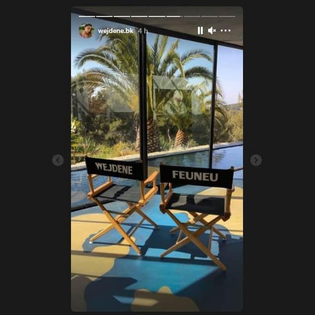 Wejdene s'affiche en Grèce pour le tournage d'un tout nouveau clip !