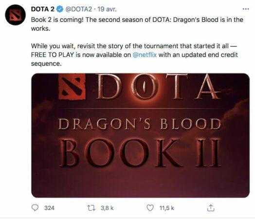Dota Dragon's Blood (Netflix): une deuxième saison déjà confirmée !