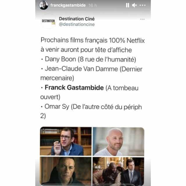 Franck Gastambide (Validé saison 2) star d'un nouveau film Netflix !