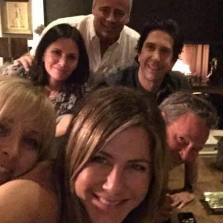 Jennifer Aniston bientôt sur le tournage de Friends avec ses co-stars !