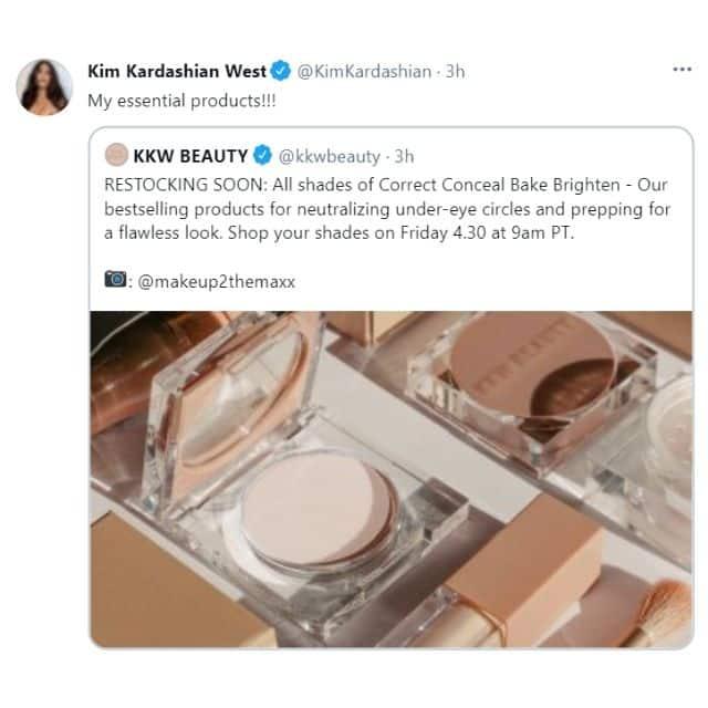 Kim Kardashian: ses produits préférés KKW Beauty sont de retour !