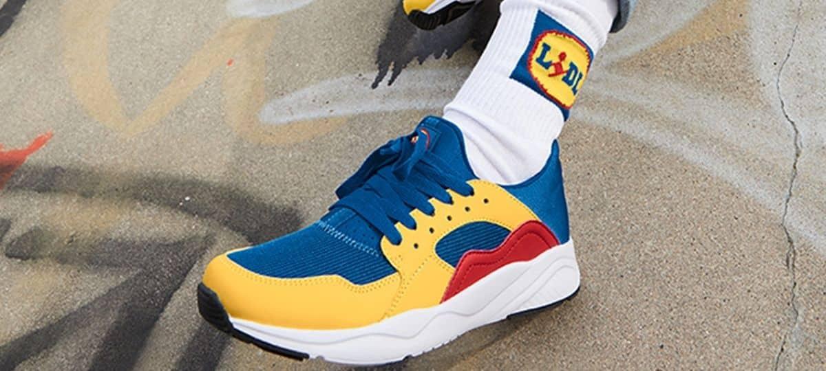 Lidl rivalise avec Nike et Adidas avec ses baskets en édition limitée !
