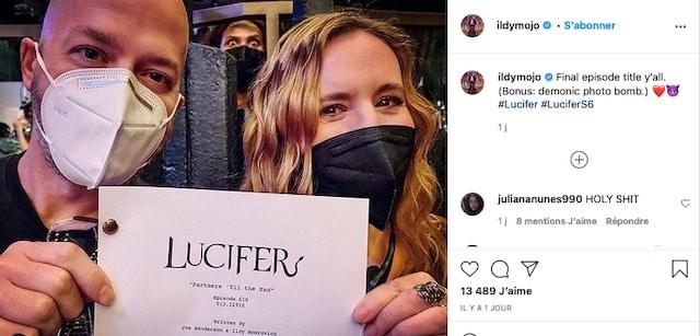 Lucifer saison 6: le titre de l'épisode final dévoilé sur Instagram !