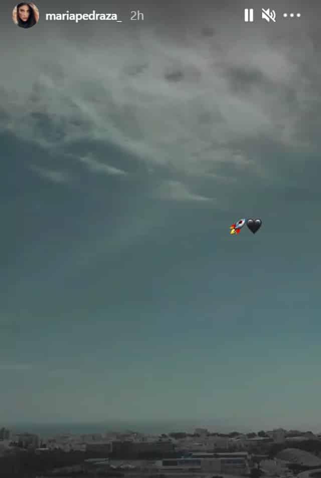 María Pedraza émerveillée par le décollage de la fusée SpaceX !