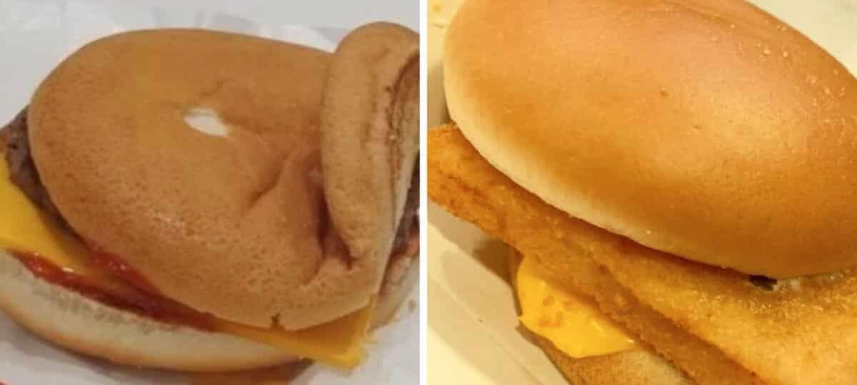 McDonald's un fan compile les burgers les plus ratés sur Instagram