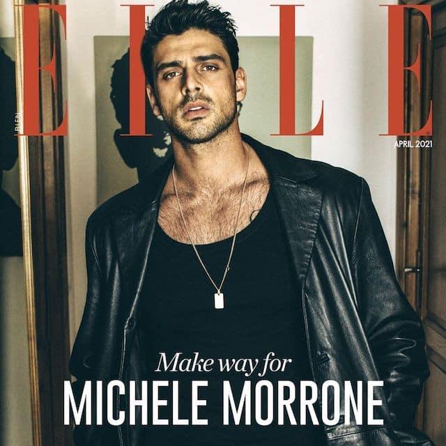 Michele Morrone torride en couverture d'un célèbre magazine de mode !