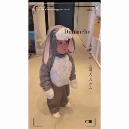 Nabilla dévoile une adorable vidéo de Milann en lapin pour Pâques !