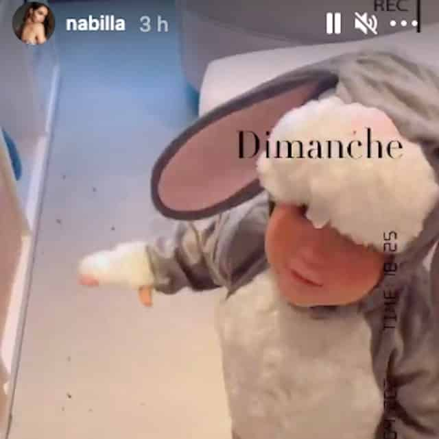 Nabilla prépare Pâques en famille et prévoit une surprise à Milann !