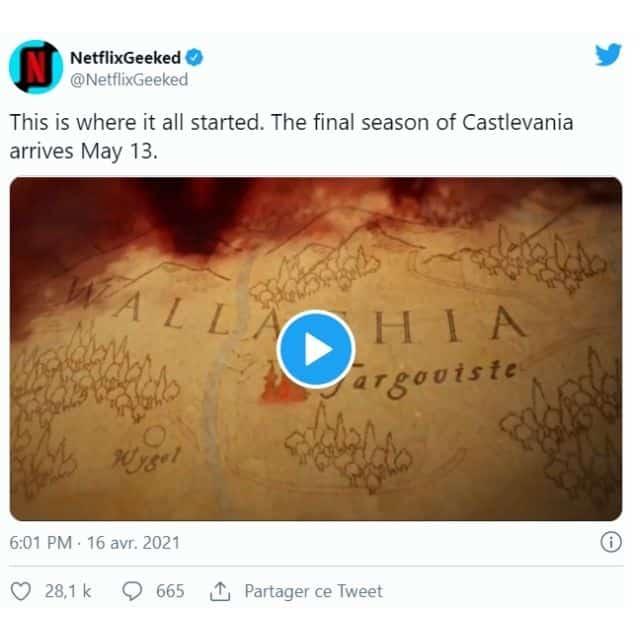 Netflix: la dernière saison de Castlevania débarque en mai 2021 !