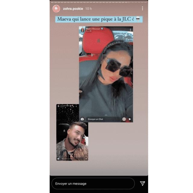 Maeva Ghennam taquine Laurent Correia de la JLC Family sur Instagram ?