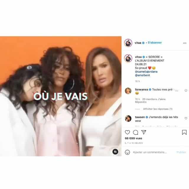 Vitaa ridiculisée pour son projet avec Amel Bent et Camélia Jordana !