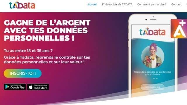 Bon plan étudiant: Tadata transforme vos données persos en argent !