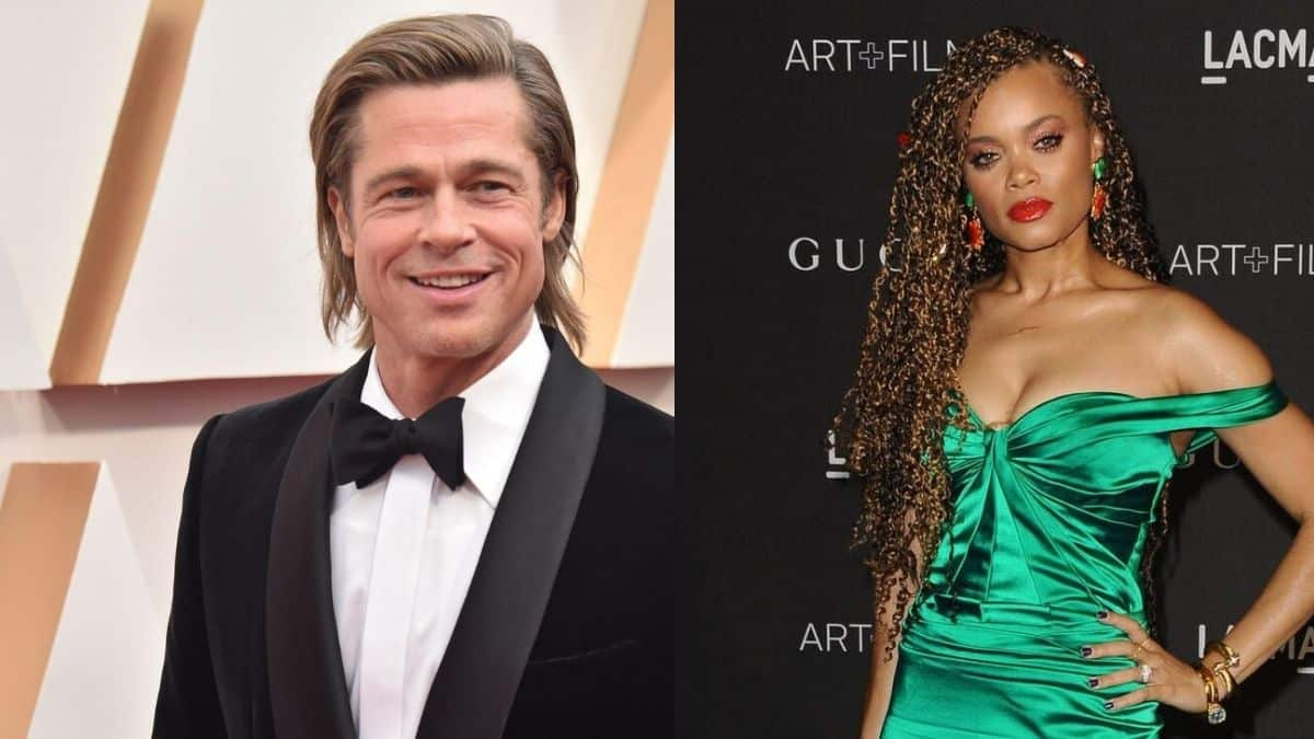Brad Pitt tombe sous le charme de la chanteuse Andra Day ?
