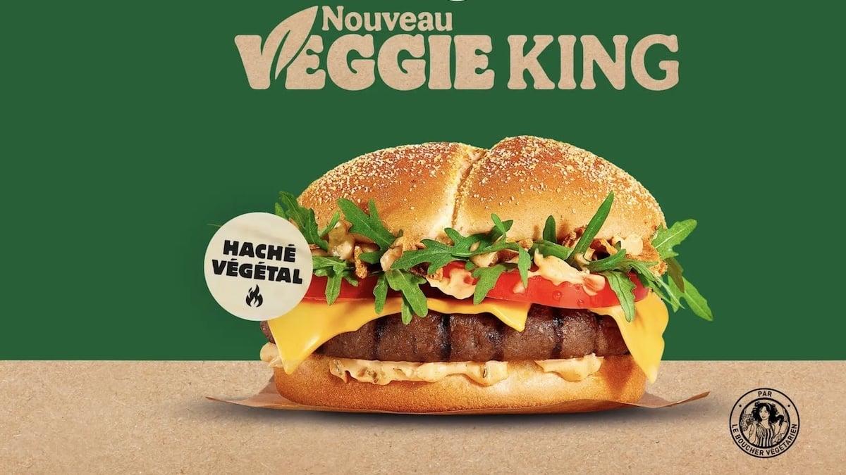 Burger King dévoile son nouveau burger végétarien «Veggie King» !