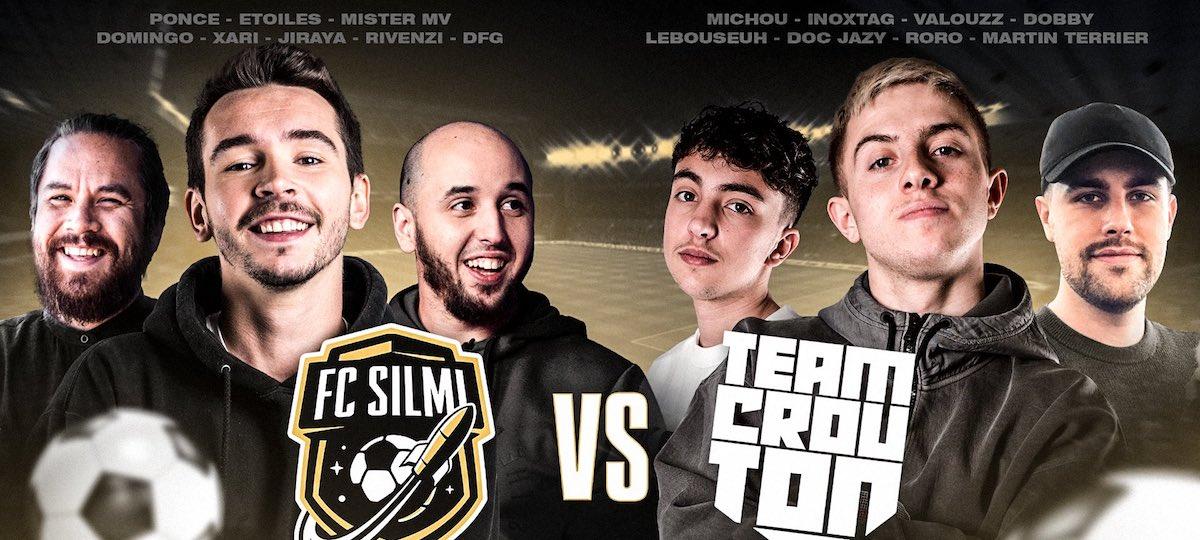 FIFA 21: la Team Crouton avec Michou affrontera bientôt le FC Silmi !