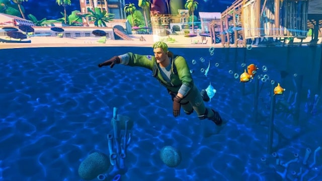 Fortnite: comment éliminer un joueur en nageant dans la saison 6 ?