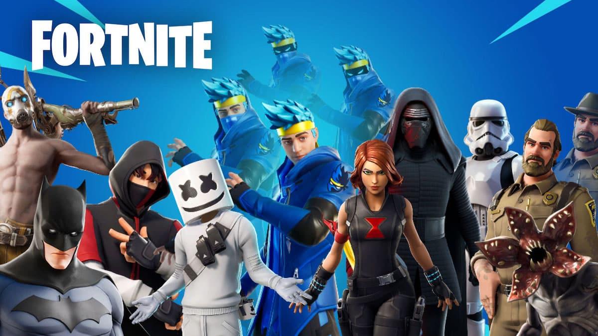 Fortnite- Top 5 des crossovers totalement incohérents dans le jeu !