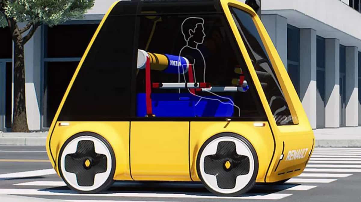 Ikea révèle les premières images de sa voiture électrique à 5 300€ !